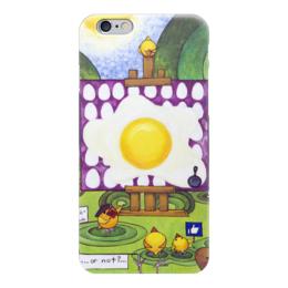 "Чехол для iPhone 6 ""Lollypups #25 (masterpiece)"" - арт, картина, like, positive, яйишница"