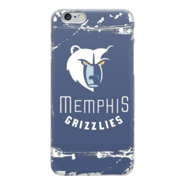 "Чехол для iPhone 6 ""Memphis Grizzlies"" - баскетбол, нба, memphis grizzlies, мемфис гриззлис"