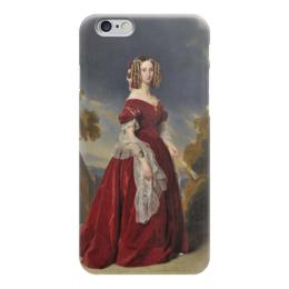 """Чехол для iPhone 6 """"Луиза Мария Орлеанская"""" - картина, винтерхальтер"""