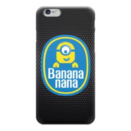 "Чехол для iPhone 6 глянцевый ""Banana Minion"" - banana, миньоны, minion, гадкий я"