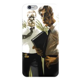 """Чехол для iPhone 6 """"True Detective"""" - рисунок, сериал, настоящий детектив, метью макконахи"""