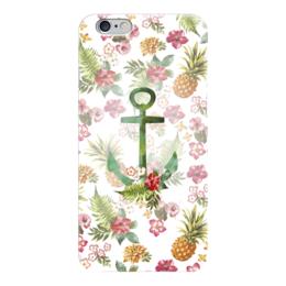 """Чехол для iPhone 6 """"Гавайи"""" - лето, море, якорь, пляж, гавайи"""