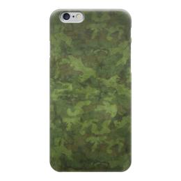 "Чехол для iPhone 6 глянцевый ""Камуфляж"" - камуфляж, camo, army, армия"