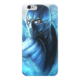 """Чехол для iPhone 6 """"Саб-зиро"""" - mortal kombat, смертельная битва, мортал комбат, sub-zero, мк"""