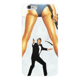"Чехол для iPhone 6 глянцевый ""Джеймс Бонд (James Bond)"" - джеймс бонд, james bond, агент 007, шпион"