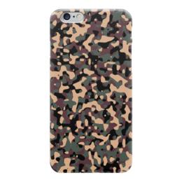 """Чехол для iPhone 6 """"Камуфляж"""" - армия, army, камуфляж, camouflage, военный"""
