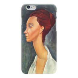 """Чехол для iPhone 6 """"Люния Чековска"""" - картина, модильяни"""