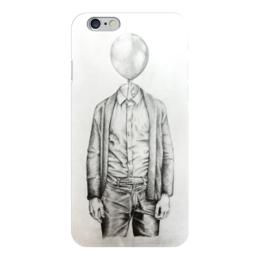 "Чехол для iPhone 6 ""Mr.Baloon"" - арт, рисунок, шарик, карандаш, сюр"