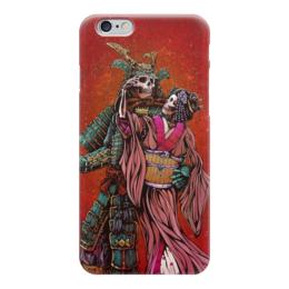 "Чехол для iPhone 6 ""Dead Samurai"" - самурай, япония, japan, кимоно"