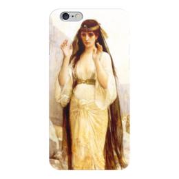 """Чехол для iPhone 6 глянцевый """"Дочь Иеффая (картина Кабанеля)"""" - картина, кабанель"""