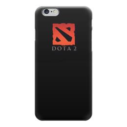 """Чехол для iPhone 6 """"Dota 2"""" - геймер, дота, про игры, о доте, с дотой"""