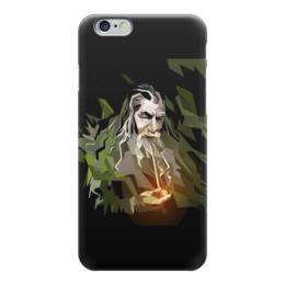 "Чехол для iPhone 6 ""Гендальф"" - арт, властелин колец, толкиен, магия, фродо"