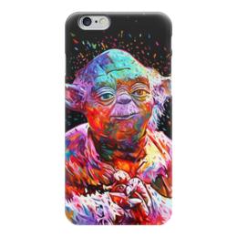 "Чехол для iPhone 6 ""Йода (Yoda)"" - star wars, yoda, звездные войны, йода, стар варс"