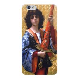 """Чехол для iPhone 6 """"Паж (картина Кабанеля)"""" - картина, кабанель"""