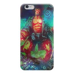 """Чехол для iPhone 6 """"Хеллбой"""" - демон, hellboy, хеллбой, dark horse comics, темная лошадь"""