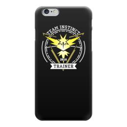 """Чехол для iPhone 6 """"Покемоны. Team Instinct"""" - прикольные, покемон, покемоны, pokemon go, team instinct"""