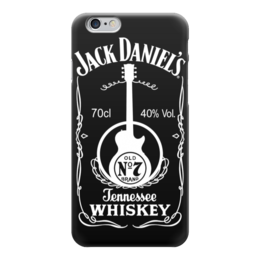 "Чехол для iPhone 6 ""Jack Daniels"" - алкоголь, виски, whiskey, alcohol, jack daniels"