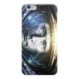 """Чехол для iPhone 6 глянцевый """"путин"""" - путин, самый вежливый из людей, президент, владимир путин, арт"""