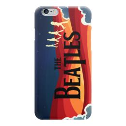 """Чехол для iPhone 6 глянцевый """"Битлз (The Beatles)"""" - битлз, битлы, the beatles"""