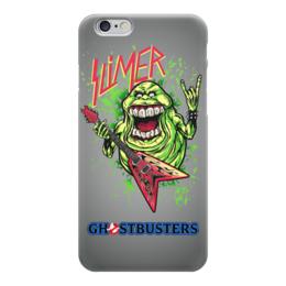 "Чехол для iPhone 6 ""Лизун/Slayer"" - юмор, slayer, охотники на привидений, thrash metal, ghost busters"