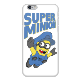 "Чехол для iPhone 6 ""Super Minion"" - mario, миньоны, minion, марио, банана"