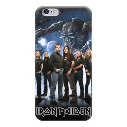 "Чехол для iPhone 6 ""Iron Maiden Band"" - heavy metal, iron maiden, хэви метал, eddie, nwobhm"
