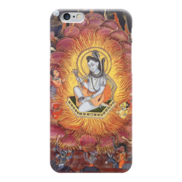 "Чехол для iPhone 6 ""Шива (Амардас Бхатти)"" - картина, раджпутская живопись"