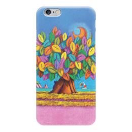 """Чехол для iPhone 6 """"Дерево Счастья iCALISTIni"""" - happiness, tree, дерево счастья, icalistini"""