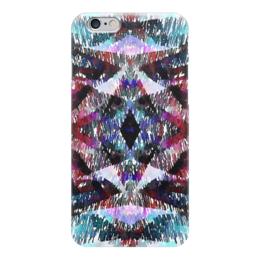 """Чехол для iPhone 6 """"Апачи"""" - бордовый, черный, голубой, фиолетовый, розовый"""
