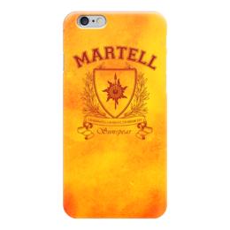 """Чехол для iPhone 6 """"Игра Престолов. Дом Мартеллов"""" - игра престолов, game of thrones, дом мартеллов, house martell, мартеллы"""
