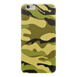 """Чехол для iPhone 6 """"Камуфляж"""" - армия, army, камуфляж, camo, военный"""