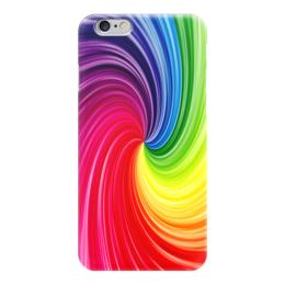 "Чехол для iPhone 6 ""Абстракция"" - радуга, узоры, абстракция, абстракционизм, арт дизайн"