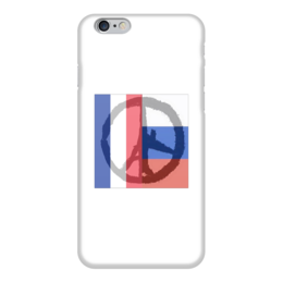 "Чехол для iPhone 6 ""Pray for World"" - pray for paris, pray for world, pray for russia"