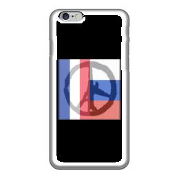 """Чехол для iPhone 6 """"Pray for World"""" - pray for paris, pray for world, pray for russia"""