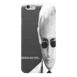 "Чехол для iPhone 6 ""Влади́мир Влади́мирович Пу́тин "" - знаменитости, россия, политика, путин, президент"
