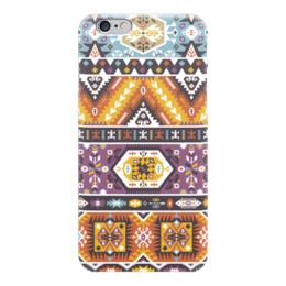 "Чехол для iPhone 6 ""Bright pattern in tribal style"" - tribal, native, aztec, navajo, indigenous"