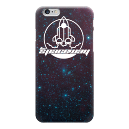 """Чехол для iPhone 6 глянцевый """"My Space"""" - космос, интересное, наука, денис гесс, the spaceway"""