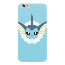 "Чехол для iPhone 6 ""Vaporeon (Pokemon)"" - pokemon, water, go, vaporeon, eevee"
