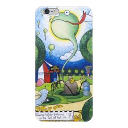 "Чехол для iPhone 6 ""Lollypups #33 (be full of hot air) "" - арт, баран, цирк, лолипупс"