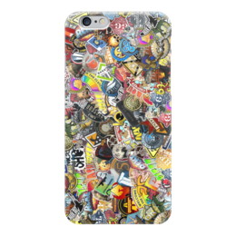 "Чехол для iPhone 6 ""Case ""Stickers CS:GO"""" - case, cs, go, counter-strike, stickers"