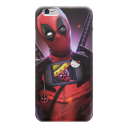 "Чехол для iPhone 6 ""Дэдпул (Deadpool)"" - hello kitty, комиксы, марвел, дэдпул, deeadpool"