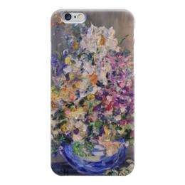 """Чехол для iPhone 6 глянцевый """"Винтаж"""" - букет, ваза, винтаж"""
