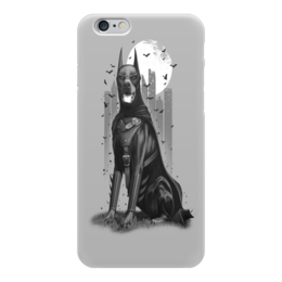 """Чехол для iPhone 6 """"Batman """" - доберман"""