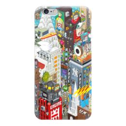 """Чехол для iPhone 6 глянцевый """"Нью Йорк"""" - ny, нью йорк, new york city, new york"""