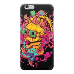 """Чехол для iPhone 6 """"Зомби без головы"""" - мысли, абстракция, мозговая атака, brainstorming"""