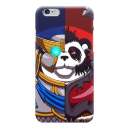 "Чехол для iPhone 6 ""Пандарен (Варкрафт)"" - wow, world of warcraft, варкрафт, alliance and horde, орда и альянс"