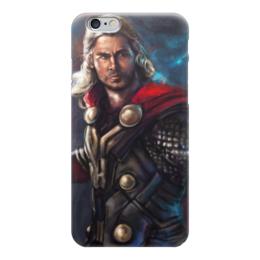 """Чехол для iPhone 6 """"Тор (Мстители)"""" - тор, thor"""