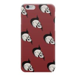 "Чехол для iPhone 6 ""SKULLPUNK"" - skull, череп, комикс, face, кости"