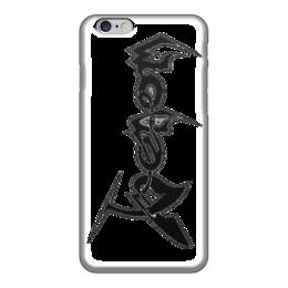 """Чехол для iPhone 6 глянцевый """"Веном """" - marvel comics, веном, паучок"""