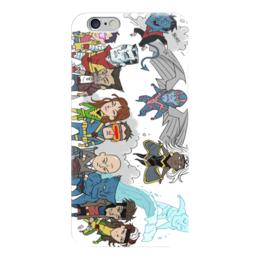 """Чехол для iPhone 6 глянцевый """"комиксы"""" - комиксы, люди икс, comix, dc, супергерои"""